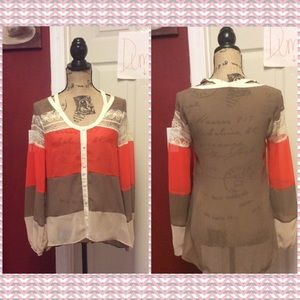 Ryu color blocked blouse